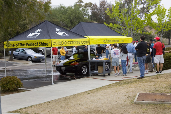 Used Car Tent Event San Diego