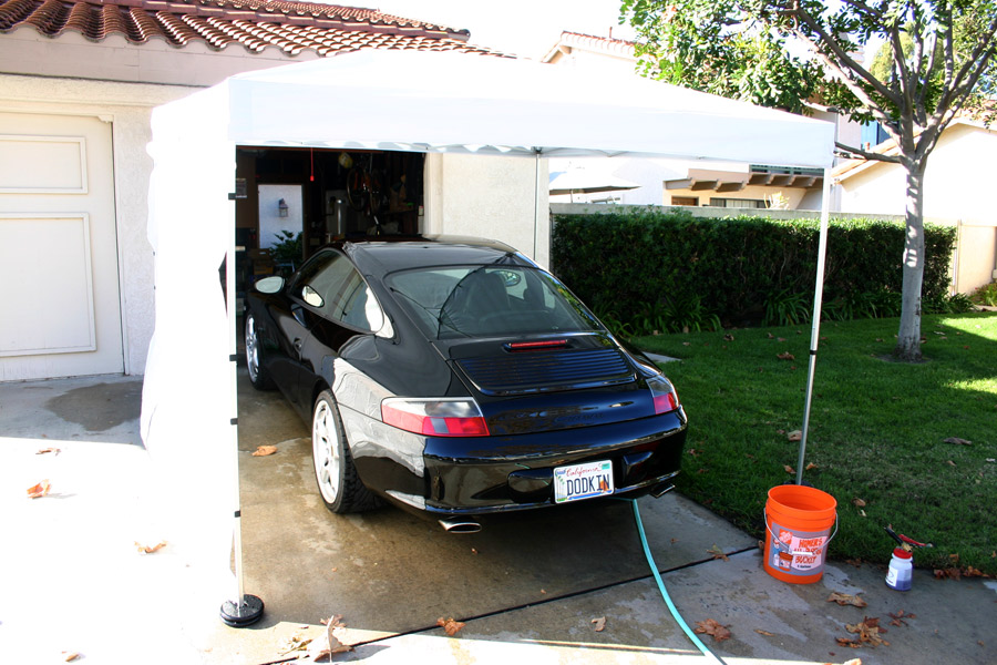 Chris. & Detailing Canopy - update - Rennlist - Porsche Discussion Forums